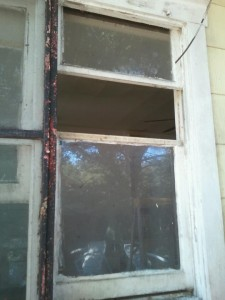 split double hung window